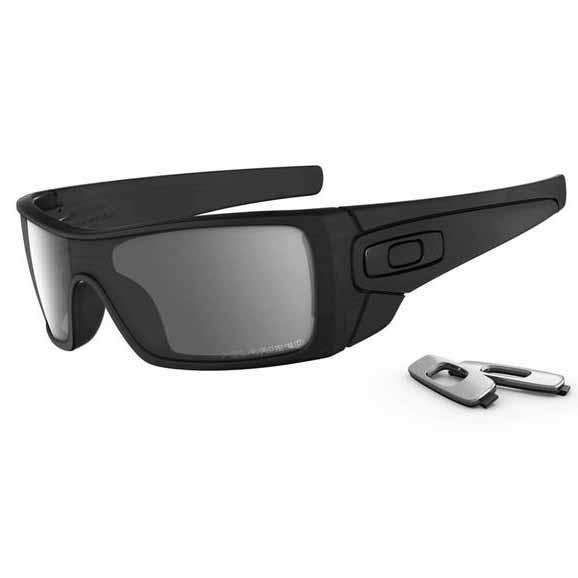 29a4557bc7 Oakley batwolf sunglasses - polarised - matte black ink frame with black  iridium polarised lens