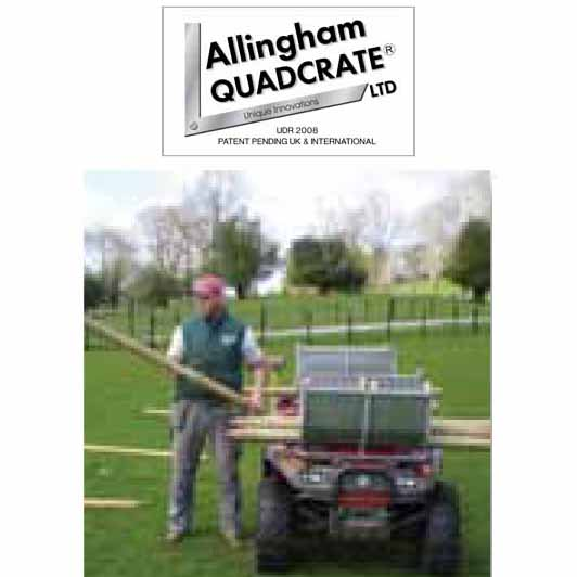 Allingham Quadcrate Front Post Holder Allingham Quadcrate Atv